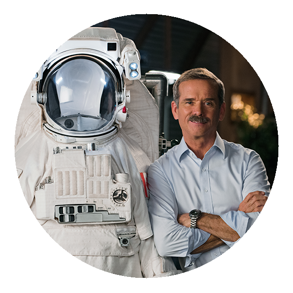 Chris Hadfield - STEMFest in Space space suit