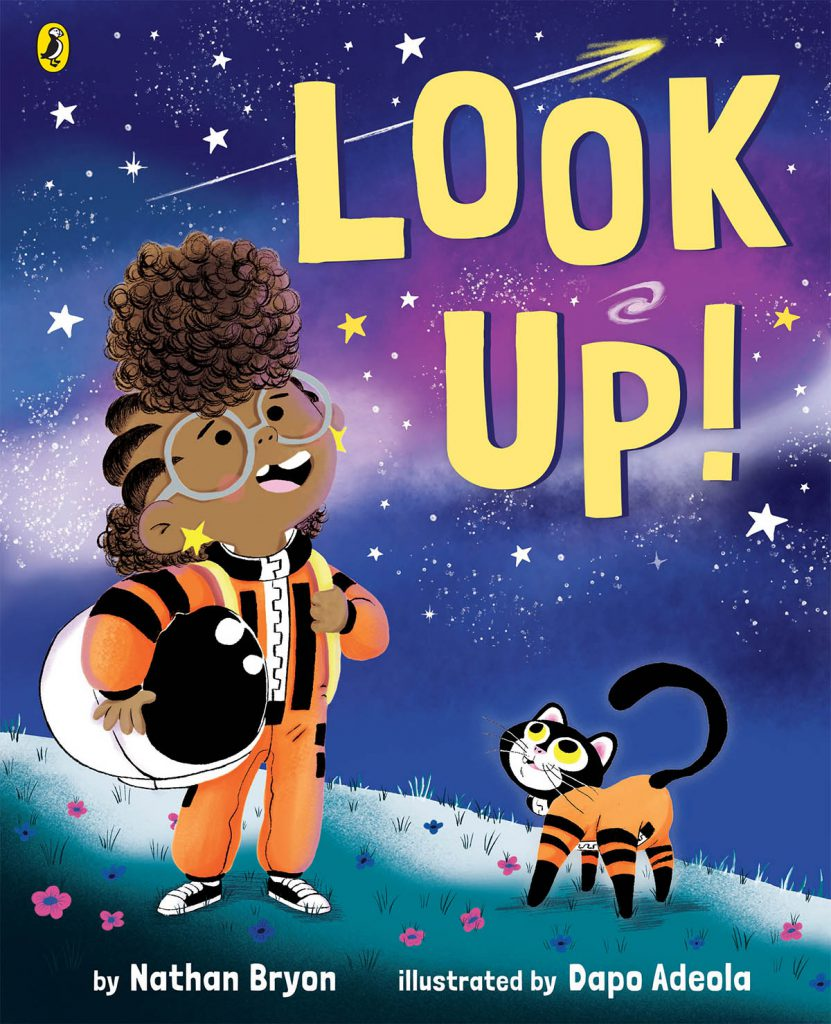 Look Up book STEMFest in Space front cover